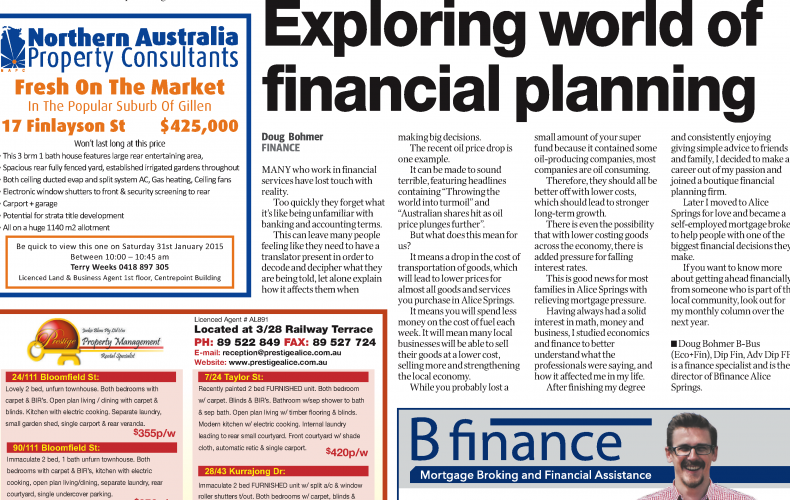 Exploring the world of financial planning