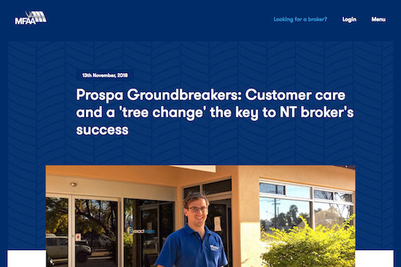 MFAA Groundbreakers Interview